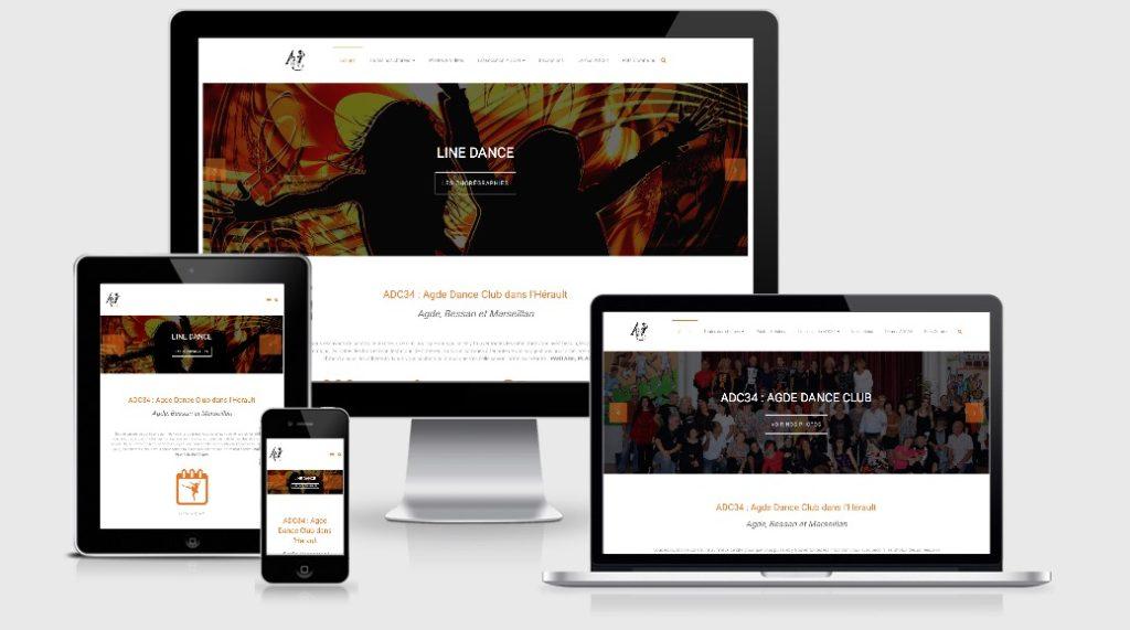 Site associatif danse en ligne