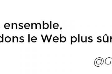 Tous ensemble, rendons les Web plus sûr - By Google